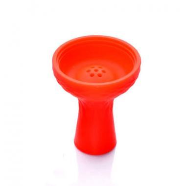 Чаша силиконовая Класическая с бортиком под калауд Red