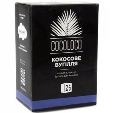 Уголь Khmara Cocoloco 1 кг в индивидуальной упаковке