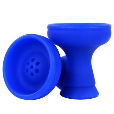 Чаша силикон классическая Blue