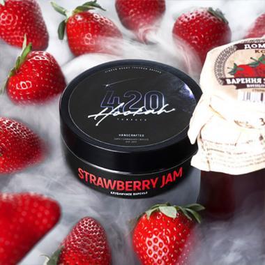 Табак 420 Strawberry Jam (Клубничное Варенье) 25 гр
