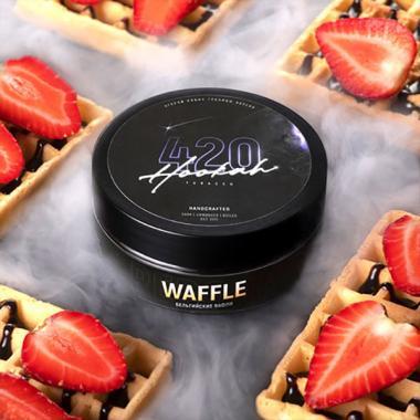 Табак 420 Waffle (Бельгийские Вафли) 25 гр