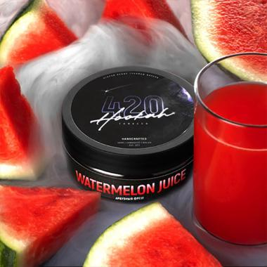 Табак 420 Watermelon Juice (Арбузный Фреш) 25 гр