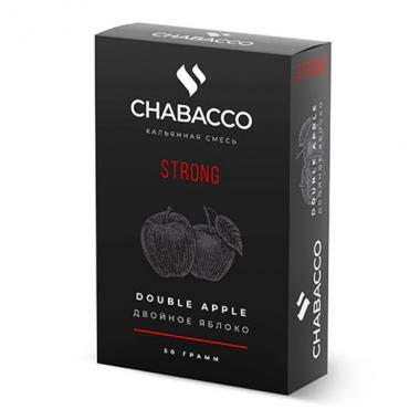 Чайная смесь Chabacco Double Apple (Двойное Яблоко) strong 50г