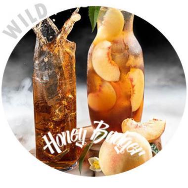 Табак Honey Badger Wild Peach Ice Tea 40 гр