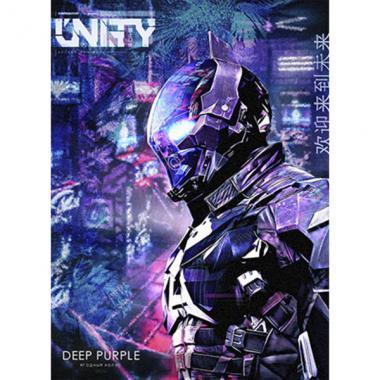 Табак Unity Deep Purple (Ягодный Холлс) 30 гр