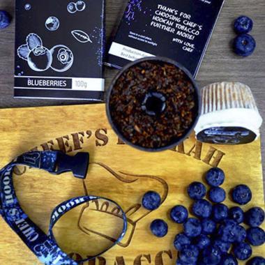 Табак Chefs Blueberries (Черника) 100 гр