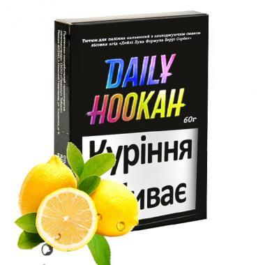 табак Акциз DAILY HOOKAH Лимоний 60 гр