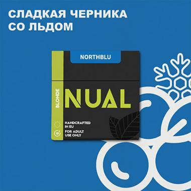 Табак Nual North Blu (Ледяная Черника) 200 гр