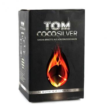 Уголь Tom Cococha Silver 250 гр