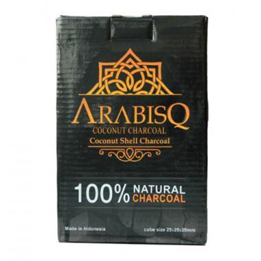 Уголь кокосовый Arabisq 1кг в индивидуальной упаковке